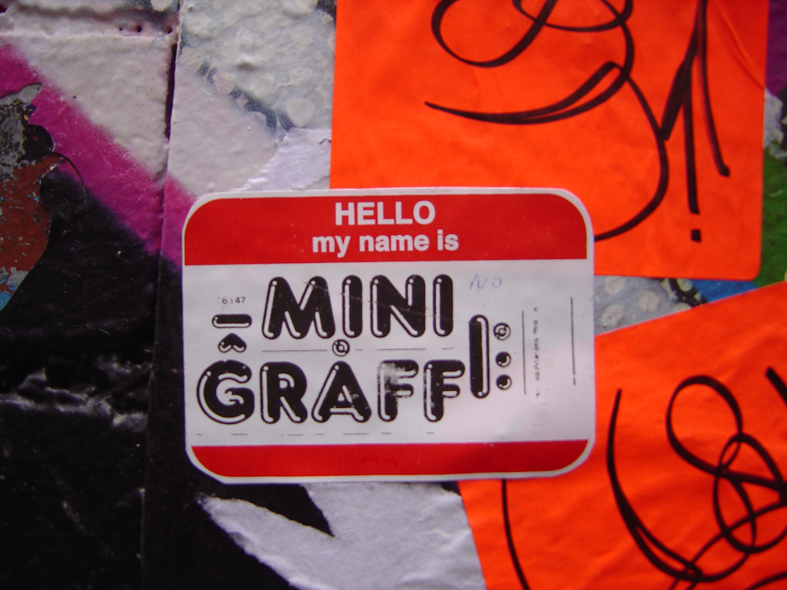 Stickers Tag Graffiti Stickers A Form Of Tagging Most Commonly