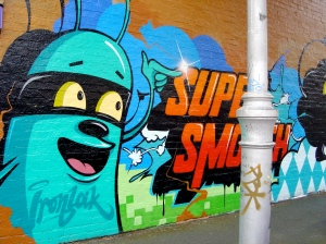 Dabs and Mylar, Collingwood, 2010