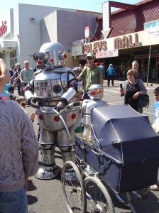 Robot performer Coburg
