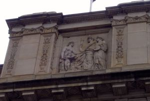 Bertram Mackennal, allegorical relief, 1888  Victoria's Parliament House