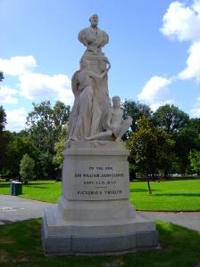 Bertram Mackennal, Sir William John Clarke Memorial, 1902