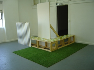 Jacqui Gordon, Re-building Our Flat-pack Aspirations, 2015