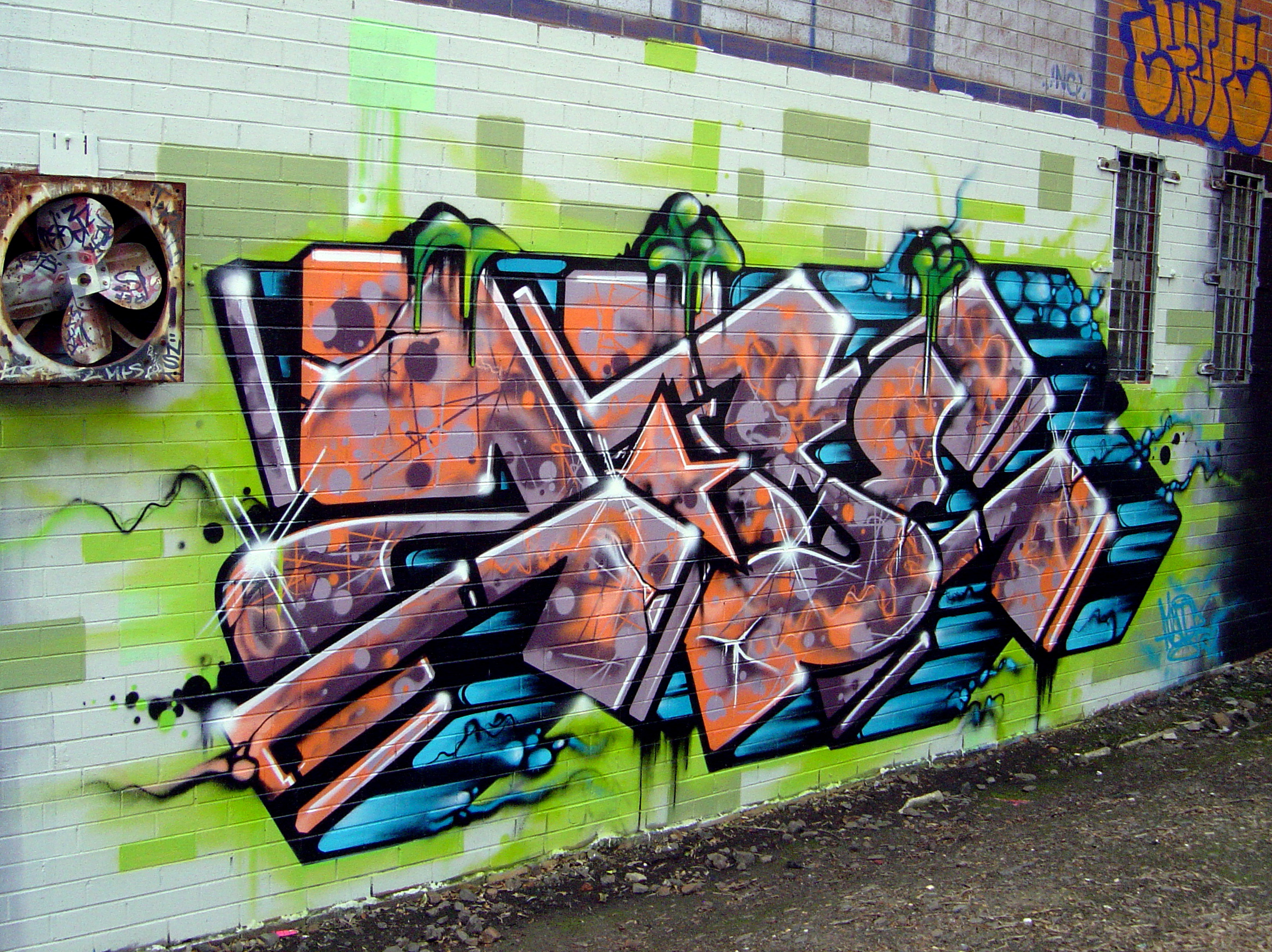 Explanation Graffiti Art Mark