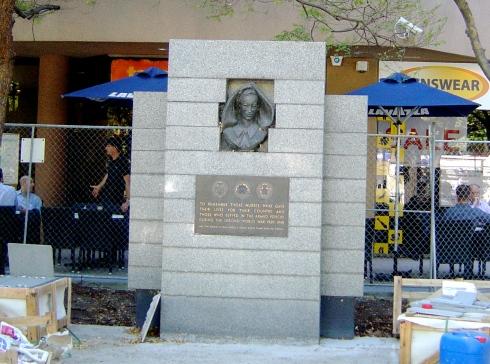 WWII Nurses Memorial