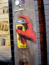 Phoenix Spraycan hand