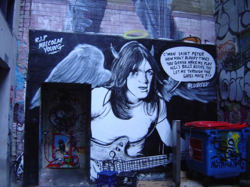 Lush, Malcolm Young