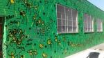 Civil green wall