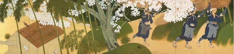 Tsuchida Bakusen, Oharame, Women Peddlers