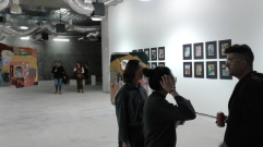 My terrible photos of the Cultural Candy exhibition.