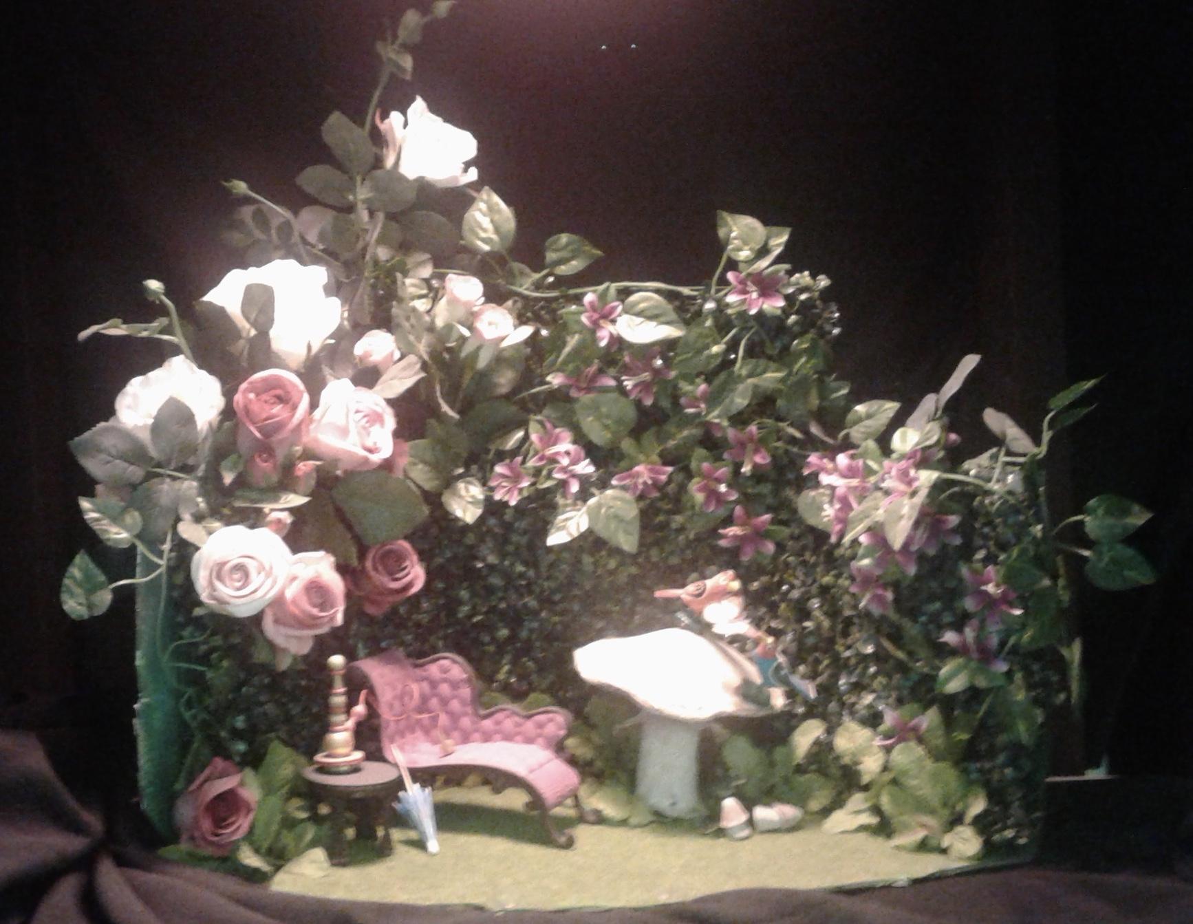 Rose Agnew diorama